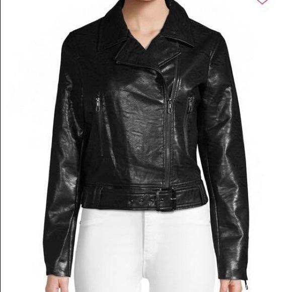 T Tahari Jackets & Blazers - T Tahari leather jacket